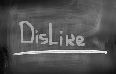 Dislike Concept