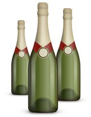 Bouteille de champagne 09