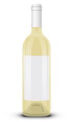Bouteille de vin blanc 02