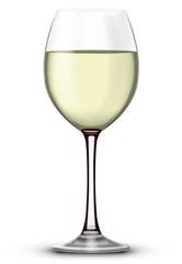 Verre de vin blanc 01