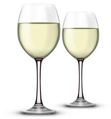 Verre de vin blanc 03