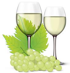 Verre de vin blanc 04