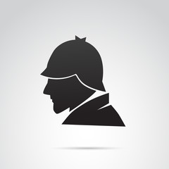 Detective vector icon.