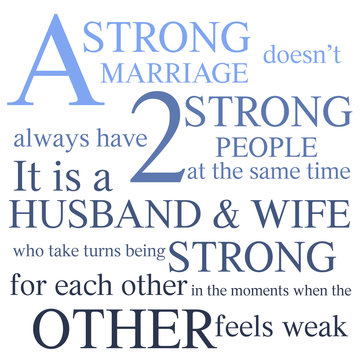 Quote About Strong Marriage