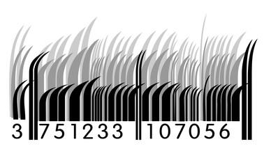 Grass barcode
