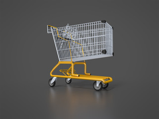 typical shopping cart