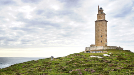 The Tower of Hercules.