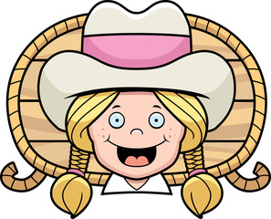 Cowgirl Smiling