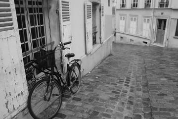 Uliczka na Montmartrze, Paryż