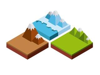 nature in pixels design