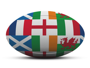 Ballon Rugby - 6 nations