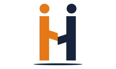 Letter  H Modern Logo