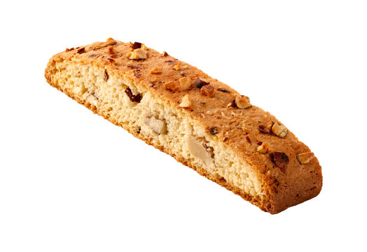 Biscotti Almond Biscuit isolated