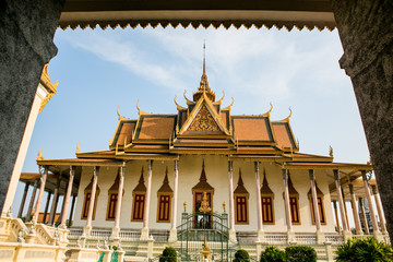 The Royal Palace in Phnom Penh Cambodia