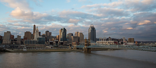 Cincinnati, Ohio cityscape