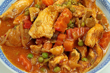 poulet aux légumes 12022016