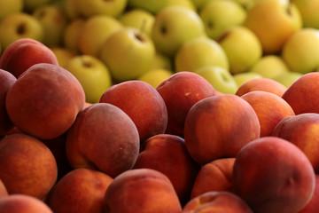 Fresh velvet skin peaches