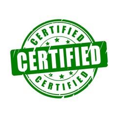 Certified vector stamp