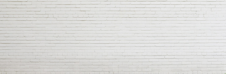 Brick wall painted with white paint. Wall mural