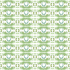 Olive seamless horizontal ornament. Olive branches seamlessly tiled pattern with laurels. Made by means of openclipart.org elements.