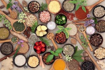 Herb and Spice Food Seasoning