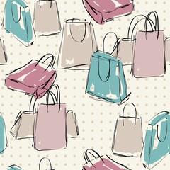 vector shopping bags