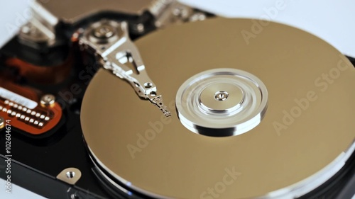 Recovery of data from hard disk