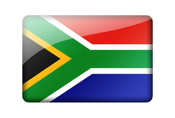 The Republic of South Africa flag