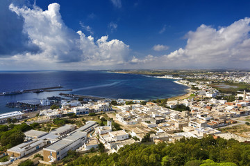 Tunisia. Kelibia - there is breathtaking view from the top of the Byzantine fort