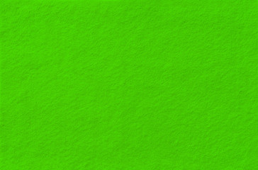 Green Felt Background for design. View from above. Close up.