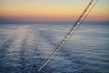 Abends auf dem Meer