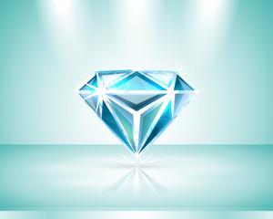 Presentation of a diamond