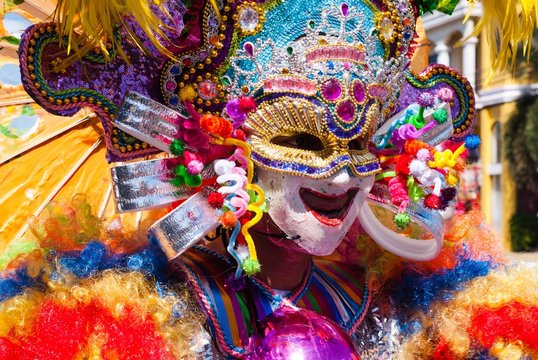 Masskara Festival. Bacolod City, Philippines.