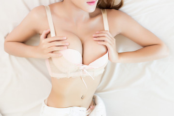 Beautiful body of woman