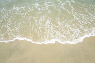 Tropical Seashore, waves and sandy beach
