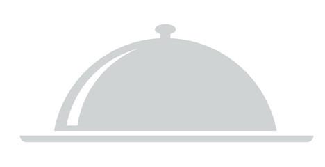 Galosche Gericht Glocke Speiseglocke