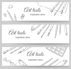 Art tools flyer