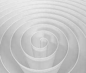 3D spiral , digital abstract background pattern