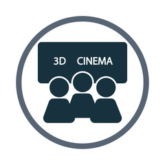 Film screening icon