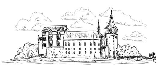 Palace and Castle Blatna