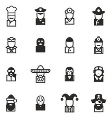 Avatar Icons Set 1