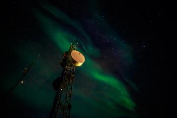 Northern lights over Nuuk