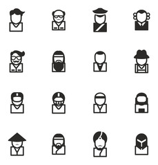 Avatar Icons Set 3