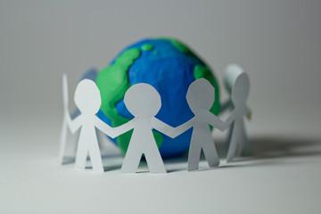 comunità, pace, amicizia, pongo, mondo