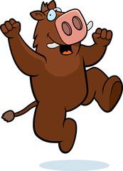 Boar Jumping