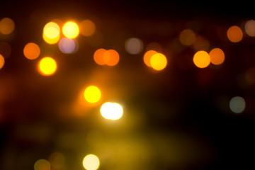 Blurred night lights Fotomurales