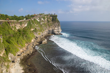 Uluwatu temple on the cliff, Bali, Indonesia
