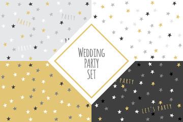 Wedding party set