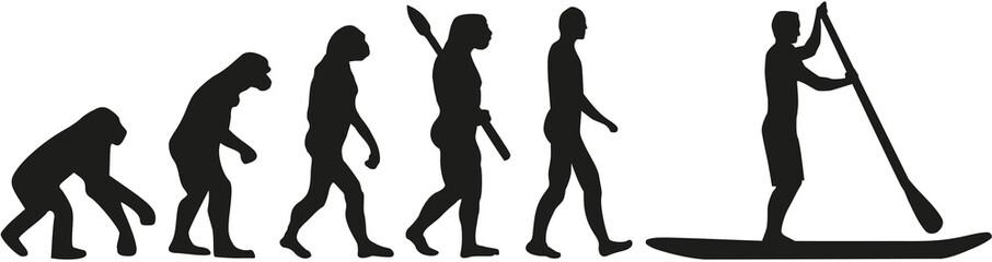 Stand up paddling evoultion
