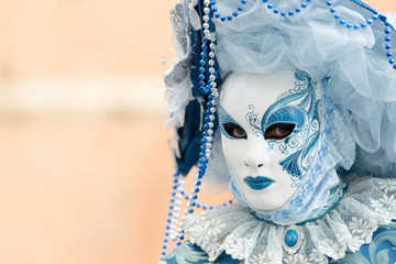 Noble mask in Venice